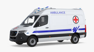 машина скорой помощи MERCEDES-BENZ SPRİNTER AMBULANCE A TYPE