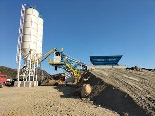 новый бетонный завод PROMAX Mobile Concrete Batching Plant M60-SNG (60m3/h)